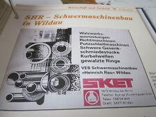 Das war die DDR Wirtschaft Technik Industrie SHR Schwermaschinenbau in Wildau