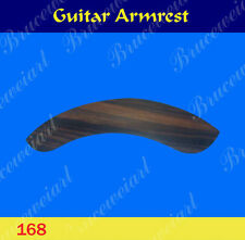 Free Shipping, Guitar Part - Left Hand Rosewood Armrest (168)