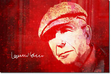LEONARD COHEN ART PRINT PHOTO POSTER GIFT