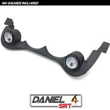 00 05 Dodge Neon Srt4 - Dual Gauge Pod 52mm (OEM) Cluster Trim Bezel