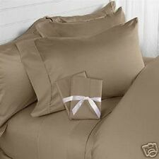 Hotel Comfort Exotic Blend Bamboo Sheet Set Soft Breeze KING SIZE - TAUPE/CAMEL