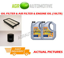 DIESEL OIL AIR FILTER + LL 5W30 OIL FOR TOYOTA AVENSIS VERSO 2.0 116BHP 2001-05