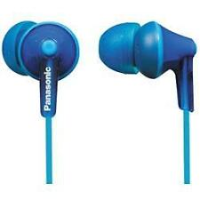 Panasonic rp-hje125 Stereo In Ear Canal Cuffie ERGOFIT BUD 3 Taglie Blu Nuovo