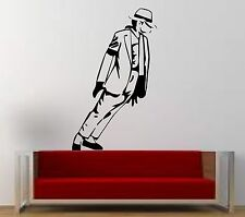 Wall Art Quality Vinyl Stickers Decals: Michael Jackson - Moonwalking - NEW