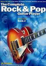 La completa ROCK & Pop GUITAR Player Libretto 2 Spartiti Musicali LIBRO & CD-riviste ed