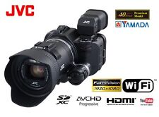 JVC KENWOOD 10x Full HD Wi-Fi Video Camcoder GC-YJ40 (GC-PX100) EMS F/S JAPAN