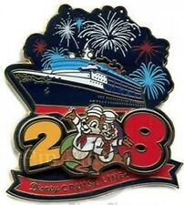 Disney Pin: DCL 2008 Logo Pin - Chip and Dale