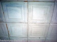 25 pcs Vintage Ceiling Tin Tile 10'x10' Simple Elegant Chic Ceiling Fleur De Li
