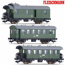 Fleischmann 500201-S3 Personenwagen-Set 3-teilig DB (Spur H0) ++ NEU & OVP ++