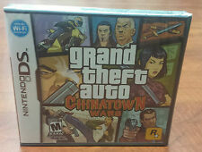 Grand Theft Auto Chinatown Wars NINTENDO DS 3DS DSI FACTORY SEALED