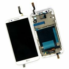White Touch Screen Digitizer LCD + Frame for LG G2 D800 D801 D803 + Tools
