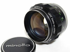 Minolta MC Rokkor-PG 58mm F1.2 camera lens