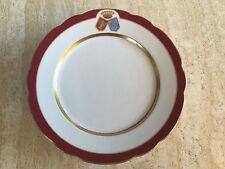 Dessert porcellana piatto stemma uomo libero di Waldenfels, nobiltà Baviera, per 1890