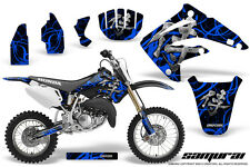 HONDA CR 85 03-07 GRAPHICS KIT CREATORX DECALS STICKERS SAMURAI BLB