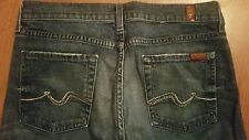7 FOR ALL MANKIND Bootcut size 29 x 32.5 Embellished Rhinestone Studded Pockets