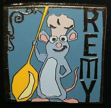 DISNEY PARK PACK AUGUST 2015 RATATOUILLE REMY PIN NEW ON CARD