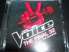 The Voice (Australia) The Final 32 – 32 Artists 32 Songs Various 2 CD - Like New
