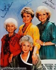 REPRINT - GOLDEN GIRLS Betty White Signed 8 x 10 Glossy Photo Poster RP