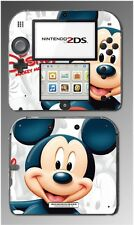 Mickey Mouse Cartoon Epic Kingdom Hearts 3D Video Game Skin Cover Nintendo 2DS