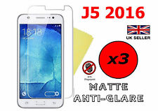 3x HQ MATTE ANTI GLARE SCREEN PROTECTOR COVER FILM GUARD SAMSUNG GALAXY J5 2016