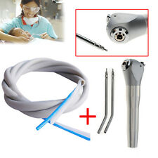 New Dental Silicone Water Air Tube + Three Way Syringe with 2  Nozzles Tips
