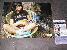 Kacey Musgraves SIGNED Country Music 8x10 Photo JSA COA RARE FULL NAME cd record