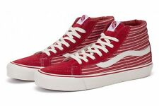 VANS OG SK8 HI LX TRAINERS HIGH TOP MID BOOT STRIPES FORMULA ONE SIZE 4 NEW