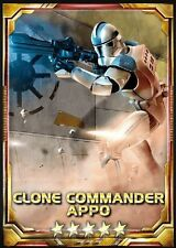 Star Wars Force Collection Commander Appo 5 star base Guide Buy2Get1Free