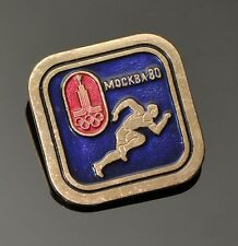 Soviet Russia USSR 1980 Moscow Olympic Games Pin Badge