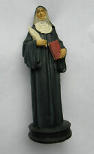 Statue of Saint Hildegard of Bengin. Resin.130 mm inc.Base