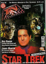 TV Zone#89 1997 JARED MARTIN, CLEAVANT DERRICKS,TEK WAR,RED DWARF