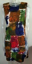 HOBBS Women's Multi-Color  Sleeveless Dress UK Size - 18