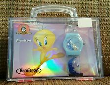 Looney Tunes Tweety on the Moon Rotating disc watch by Armitron