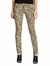 GUESS 100% AUTHENTIC NEW WOMENS JEANS SZ 28 Denim low-rice Camouflage Inseam 30