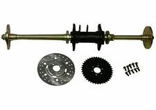 Rear Axle Assy Complete 49cc to 125cc Chinese ATVs 40 Tooth Sprocket