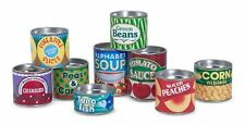 Melissa and Doug Let`s Play House! Grocery Cans , New, Free Shipping