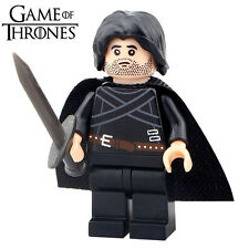 TV Game of Thrones Jon Snow DIY Building Blocks Minifigures Xmas Toys Gifts