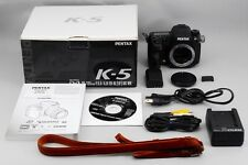 *near mint** Pentax K K-5 16.3 MP Digital SLR Camera (Body Only) From Japan #235