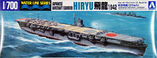 Aoshima Waterline 31483 IJN Japanese Carrier HIRYU 1942 1/700 scale kit