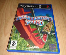 PS2 GAME: ROLLERCOASTER WORLD 'PAL UK'