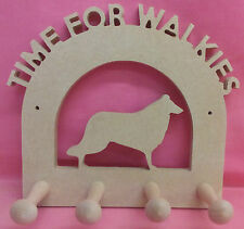 12mm Thick MDF Dog lead holder (any dog) craft blank , plaque
