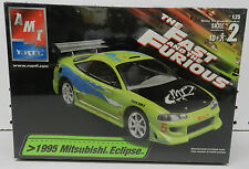 FAST FURIOUS 1995 MITSUBISHI ECLIPSE TUNNER TOYO TIRES MOVIE CAR AMT MODEL KIT