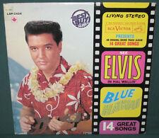 Elvis Presley Blue Hawaii LP LSP-2426 Canada Tan 1976