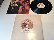 Queen: A Night At The Opera VG/VG gatefold LP with non-embossed cover