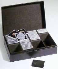 Deluxe  Presidio coin box for 100 Quadrum coin capsules or 300 2 x 2 holders