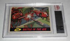 1962 Mars Attacks Battle In The Air # 44 NM-MT+ BGS BVG 8.5 Like PSA