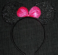 Minnie mouse ears hairband fancy dress party hen night / halloween