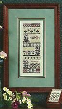 """Pat Rogers' Counted Collection  """"ABC Band Sampler"""" Pattern Leaflet"""