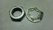 1960's SUZUKI S32 OLYMPIAN 150 S 32 SM137B ENGINE FRONT SPROCKET MOUNT HARDWARE