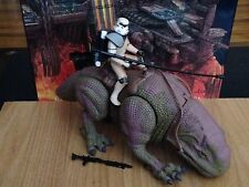 STAR WARS POTF DEWBACK AND IMPERIAL SANDTROOPER LOOSE MINT A NEW HOPE EMPIRE